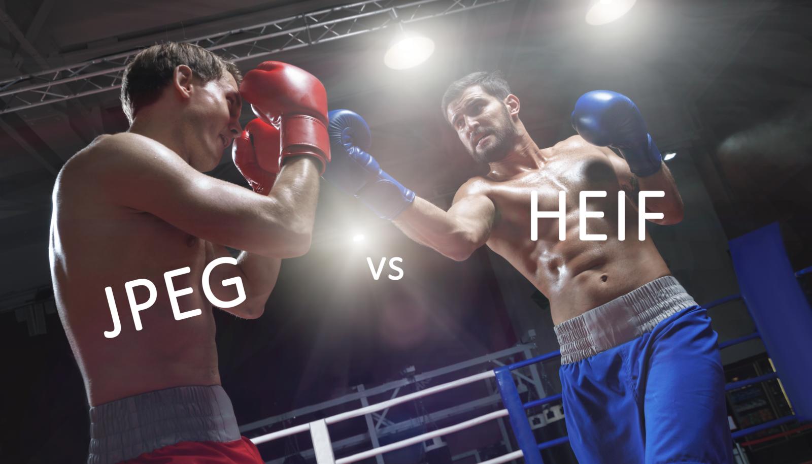 HEIF vs JPEG który lepiej używać w fotografii?